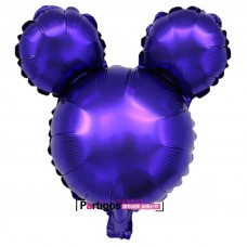 Foil Balloon Disney Inspired Mickey Ears - Purple