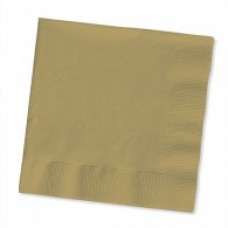Hens Party Snack Size Napkins -  Gold