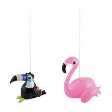 Inflatable Mini Hanging Decorations - Flamingo