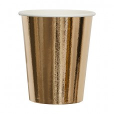 Hot and Cold Disposable Cups - Rose Gold