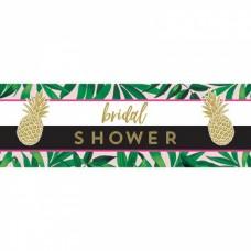 Banner - Bridal Shower Tropical