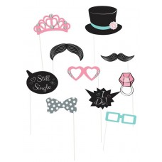 Hens Night Photo Props - 10 Pack Wedding