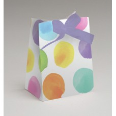 Paper Party Loot Bags - Colourful Dots