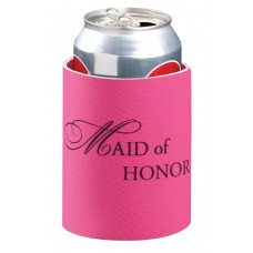 Can Cooler - Maid of Honor Pink
