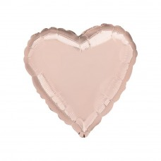 Foil Balloon - Heart ROSE GOLD
