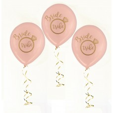 Hens Night Balloons -Bride Tribe Pink