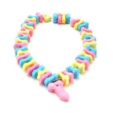Dicky Charms Rainbow Pecker - Necklace