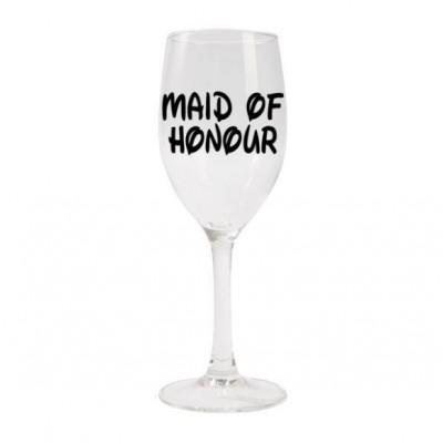 Wine Glass - Disney Inspired Maid of Honour