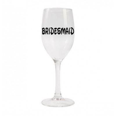 Wine Glass - Disney Inspired Bridesmaid