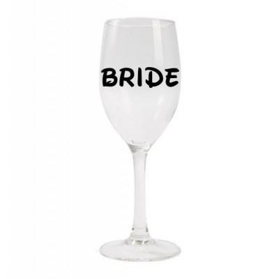 Wine Glass - Disney Inspired Bride