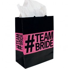 Gift Bag Medium - Team Bride Glitter