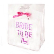 Gift Bag Medium -Bride to Be Diamantes