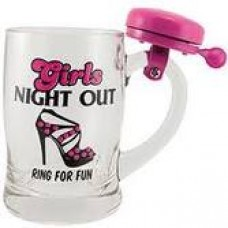Beer Mug with Bell - Girls Night Out
