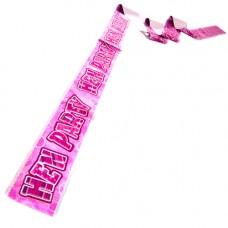 Banner - Hens Party Foil Pink