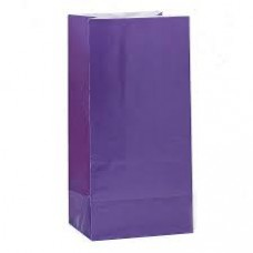 Paper Party Loot Bags - Purple