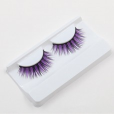 Fake Eyelashes - Purple