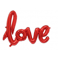 Foil Balloon Love - Red (mini)