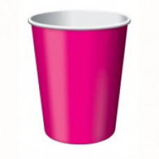 Hot and Cold Disposable Cups - Hot Pink