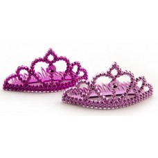 Team Bride Pink Mini Tiaras 6 Pack