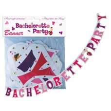Bachelorette Party Jointed Banner