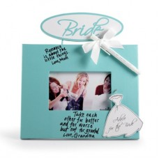 Advice for the Bride Autograph Sign Frame