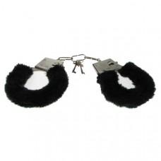 Furry Love Cuffs - Black