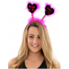 Black Boppers with Pink Writing - BRIDE TO BE