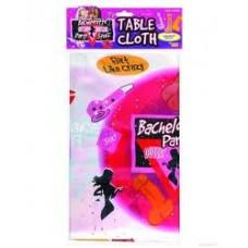Plastic Table Cover Rectangle - Bachelorette Outta Contol