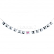 Banner - Bridal Shower Letter Bunting