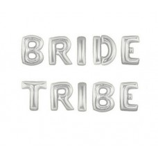 Foil Balloon Silver - BRIDE TRIBE