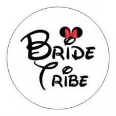 Round sticker - Disney Inspired Bride Tribe