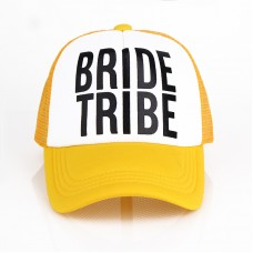 Trucker Cap Hat - Bride Tribe Yellow