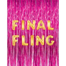 Foil Balloon Gold - FINAL FLING