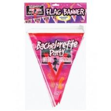 Bachelorette Outta Control Flag Pennant Banner