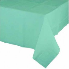 Plastic Table Cover Rectangle - Tiffany Inspired Mint