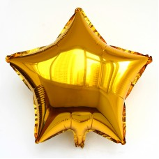 Foil Balloon Star - Gold