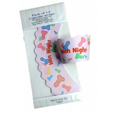Cupcake Wraps Cases - Pecker Hen Night