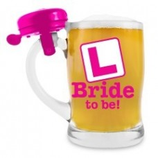 Beer Mug with Bell - Bride to Be