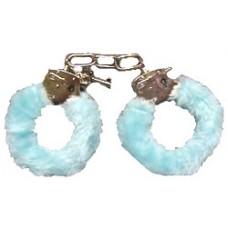 Furry Love Cuffs - Light Blue