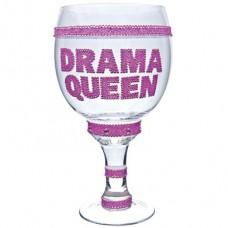 Pimp Glass Goblet - Drama Queen Clear