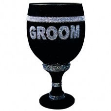 Pimp Glass Goblet - Groom Black