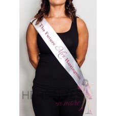 Personalised Sash - 1 Sided Print